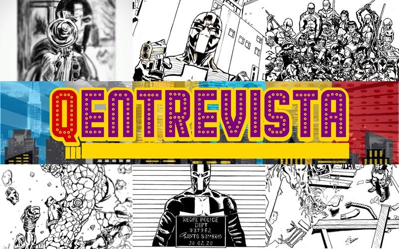 Q Entrevista! Tudo sobre o Santo Sombrio, personagem brasileiro de Gilson Costa e SueudoGomes
