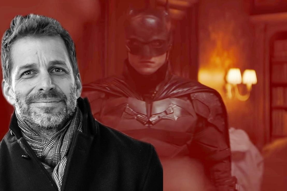 The Batman  Zack Snyder reage a primeiro trailer do filme com RobertPattinson