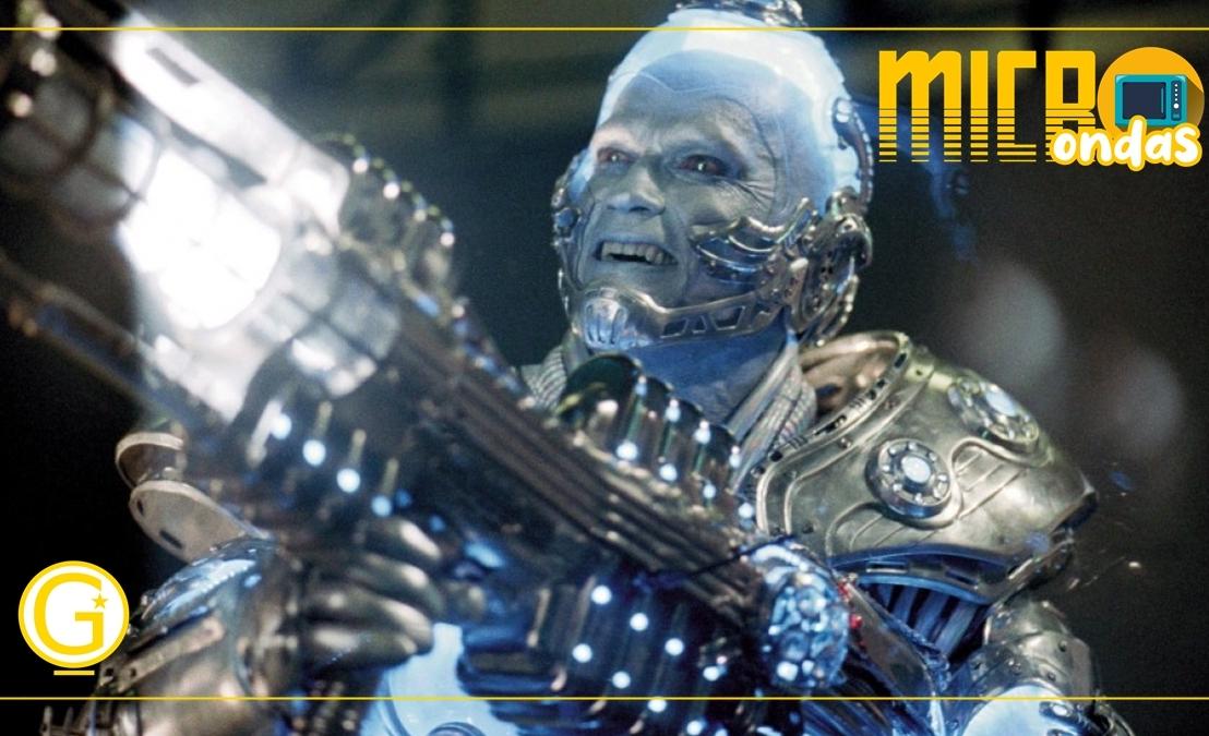 """Microondas  Arnold Schwarzenegger paga aluguel pelo traje do Sr. Frio de """"Batman &Robin"""""""