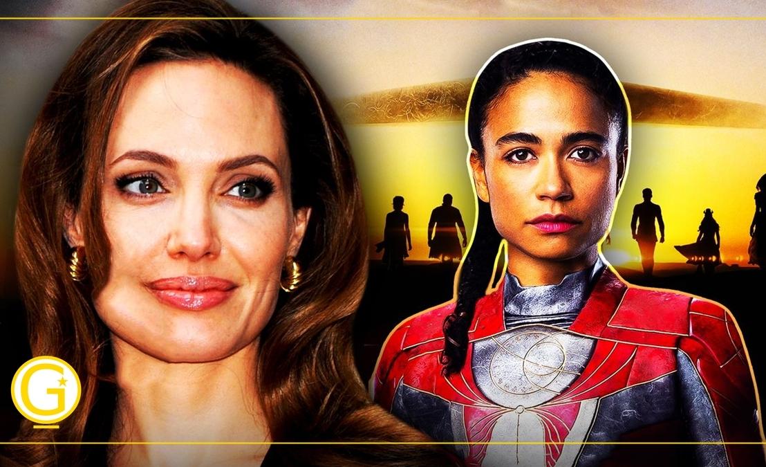 Eternos| Lauren Ridloff revela como Angelina Jolie a ajudou com dificuldades noset