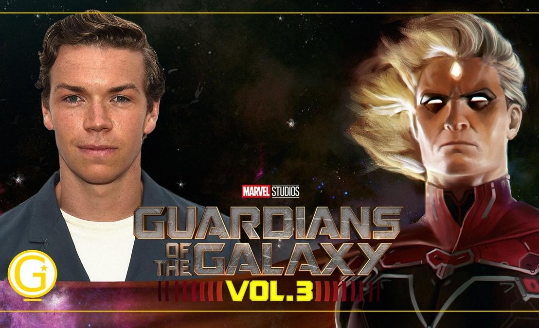Guardiões da Galáxia Vol.3| James Gunn confirma Will Poulter como Adam Warlock nofilme