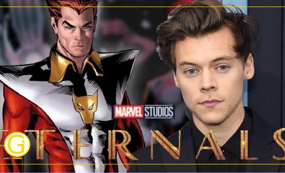 Eternos  Harry Styles pode estar no filme como Starfox, irmão deThanos
